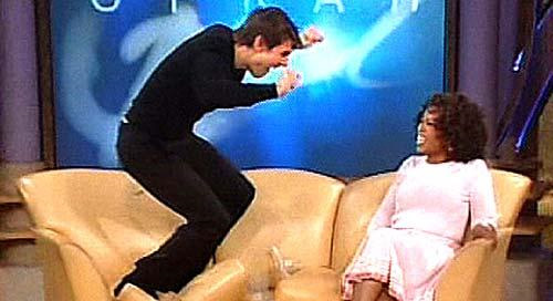 Tom Cruise was also excited to hear the news about Oprah and Twitter.